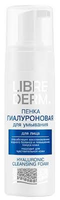 Librederm <b>пенка для умывания</b> Гиалуроновая — купить по ...