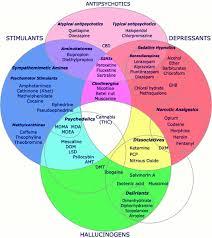 Psychology Chart Teaching High School Psychology Psychoactive Drug Chart