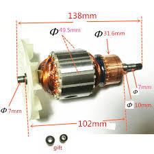 makita belt sander 9404. 220-240v rotor motor armature replacement for makita 9404 9920 9903 belt sander makita