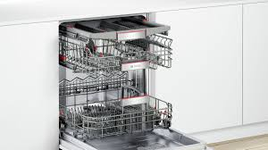 Bosch Dishwasher With Interior Light Serie 8 Fully Integrated Dishwasher 60 Cm Smv88tx46m