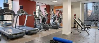 millennium hilton new york downtown hotel ny on site fitness center