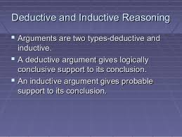 inductive and deductive reasoning   deductive and inductive reasoningdeductive and inductive reasoning