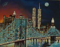 nyc painting night in manhattan by milagros palmieri