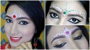3 easy bindi designs for bengali bridal makeup chandan art art part 2 my obsession