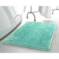 turquoise bath mat contour rug r69