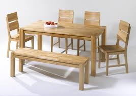 Tisch Mit Bank Massiv