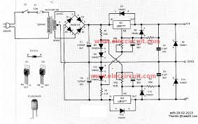 0 60v dual variable power supply circuit by lm317 lm337 0 60 volt dc variable power supply using