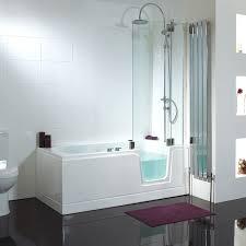 impressive step in bathtubs with shower walk bathtub