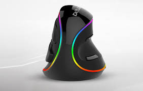 <b>Delux</b> M618 Plus RGB: вертикальная <b>мышь</b> с многоцветной ...