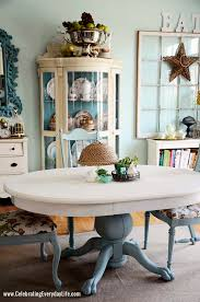 dining table hutch. dining table and chairs makeover with annie sloan chalk paint, old white hutch t