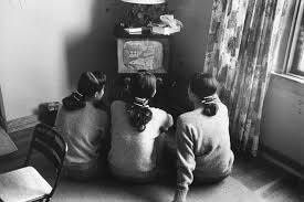 black kids watching tv. the kim sisters \u2014 a korean-born singing trio who had some success in u.s. 1960s watch television chicago 1960 black kids watching tv g