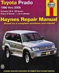 Toyota Land Cruiser Prado Petrol Diesel 1996 2009 - Landcruiser ...