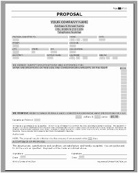 Quote Proposal Template New Sample Price Proposal And Quotation Letter Business Proposal
