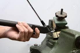 loft and lie machine. club maker adjust loft and lie of golf iron stock photo - 45025707 machine