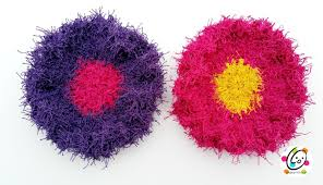 Free Crochet Patterns For Scrubbies Custom Free Pattern Scrubby Yarn Review And Flower Scrubbers Crochet