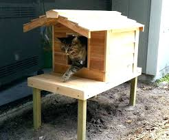 outdoor cat house plans outdoor cat shelter outdoor cat shelter large size of cat outdoor cat
