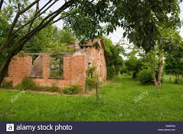 Italy, Emilia Romagna, Fossoli concentration camp near Carpi (Modena), used  for the destinations at the Auschwitz-Birkenau, Dachau, Buchenwald,  Flossenburg death camps. It is used to be a police and the German  transsexuals