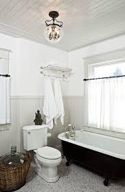 Bathroom With Clawfoot Tub Concept
