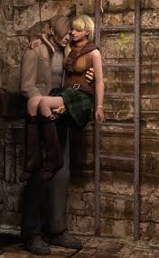 RE4Leon Ashley by 3SMJILL on DeviantArt | Resident evil leon ...