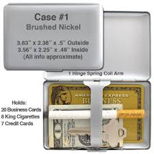 wallet size photo dimension metal credit card wallet cigarette case size feature comparison