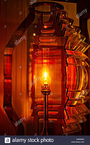 Lighting Stores Pensacola Fl A Scale Model Of A Fourth Order Fresnel Lens Is Displayed At