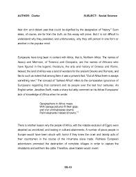african american social science baseline essay dr john henrik clark   13