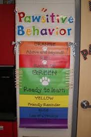 Kindergarten Classroom Behavior Chart Pawsitive Behavior Chart Personal Note Why Not Have The