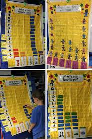 Bar Graph Pocket Chart Graphing Activities Preschool