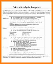 Critical Analysis Essay Example - Kleo.beachfix.co