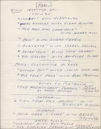 David Clarke Autograph Resume Signed Autographs Manuscripts