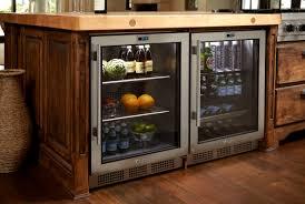 Under Counter Beverage Centers Kitchen Island Ideas With Wine Cooler Kitchen Cabinets