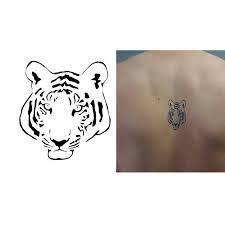 Hổ mập hình xăm con hổ cute. Hinh Xăm Con Hổ Mini Dá»… ThÆ°Æ¡ng