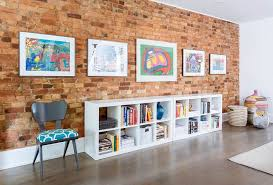the brick living room furniture. Decorate The Living Room Brick Wall With Modernity [Design: Meghan Carter Design] Furniture H