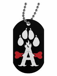 military dog tag png rock a bully military dog tag personalized dog tags for
