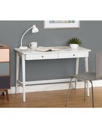 Simple Living Vera Mid-century Desk (Vera Desk, White)
