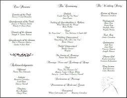 Wedding Programs Template Free 004 Template Ideas Trifold Wedding Program Remarkable