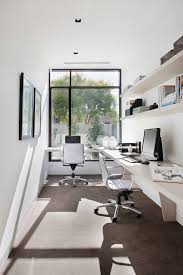narrow office desks. swivel desk chair home office contemporary with big window built in stylish narrow desks i