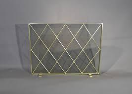 mid century modern fireplace screen. Inspirations Mid Century Modern Fireplace Screen With