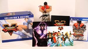 street fighter v collector s edition unboxing ps4 youtube