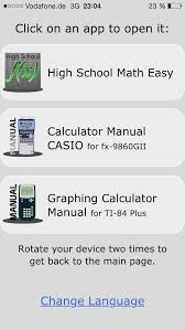 high school college apps math manual for graphing calculators ti 84 plus