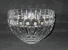 marquis by waterford quadrata crystal 7 5 inch bowl gently used marked