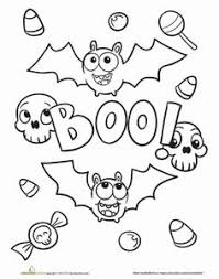 Small Picture kleurplaat griezelen halloween Pinterest Kleuring