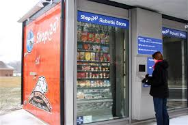 Vending Machine Store Near Me Awesome Kroger Debuts Kiosk Concept At Area College Campus The Blade