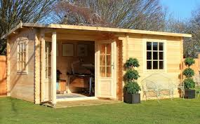 office garden shed. This Quality Log Cabin From Waltons Would Make An Ideal Occasional Bedroom.  Image Source: 6m X 5m Home Office Executive Plus Log Cabin Office Garden Shed