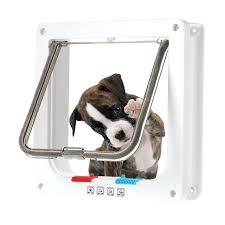 weatherproof dog door smart switch dog door small middle 4 way locking cat flap wall mount weatherproof dog door