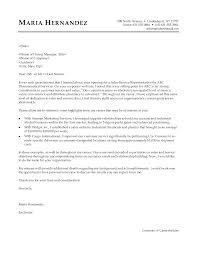 Pharmaceutical Sales Cover Letter Cover Letter Database