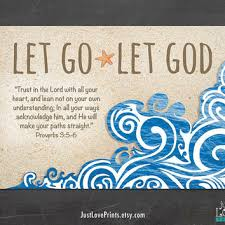 Christian Quotes About Letting Go Best of Let Go Let God Proverbs 242424 24x24 From JustLovePrints On Etsy