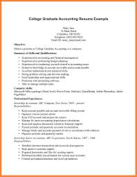 Sample Resume For Accounting Student Gallery Creawizard Com