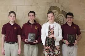 montini catholic students receive recognition in vfw s voice of montini catholic students receive recognition in vfw s voice of democracy contest chicago tribune