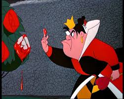 queen of hearts alice in wonderland painting the roses red